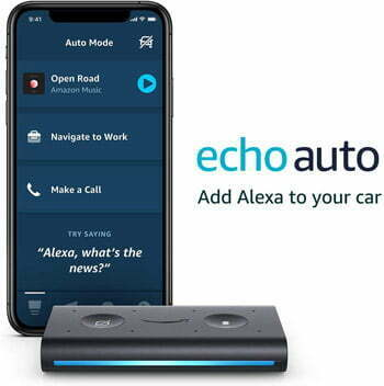 Echo Auto- Hands-free Alexa in your car with your phone google assistant